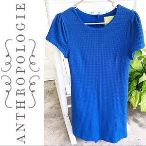 Anthropologie Maeve Royal Blue Dress Size S